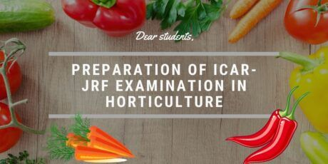 how to prepare for icar jrf horticulture