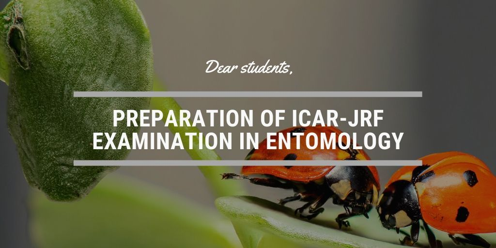 HOW TO PREPARE FOR ICAR EXAM IN ENTOMOLOGY SCIENCE